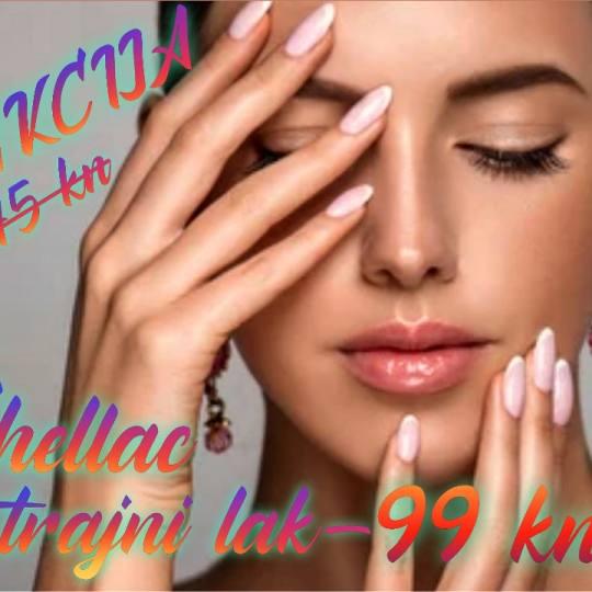 Beauty Halla #zagreb Gel lak Trajni lak Shellac Trajni lak Shellac, akcija vrijedi do 20.05.'21