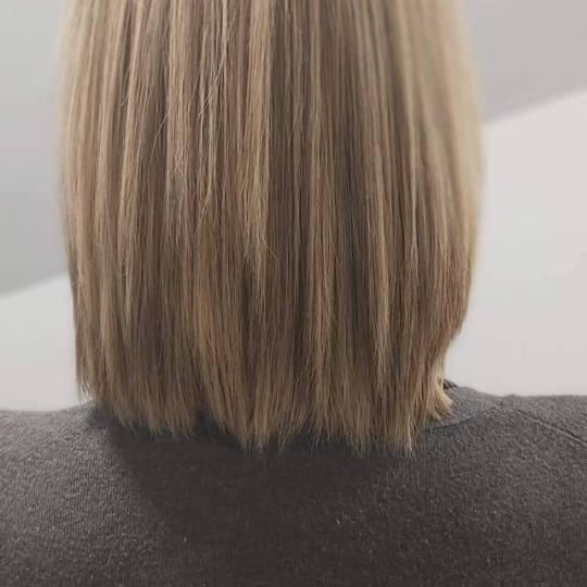 LD Passa #zagreb Pramenovi Pramenovi + preljev - kosa srednje dužine Friziranje
