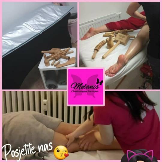 Melanis Studio #zagreb Masaža cijelog tijela Maderoterapija - cijele noge, guza, trbuh - 10 tretman